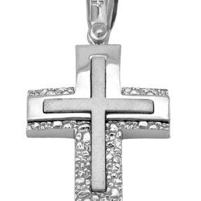Σταυρός από Χρυσό 14Κ SIO11213