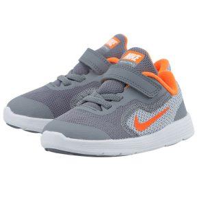 Nike – Nike Boys' Revolution 3 819415005-1 – ΓΚΡΙ