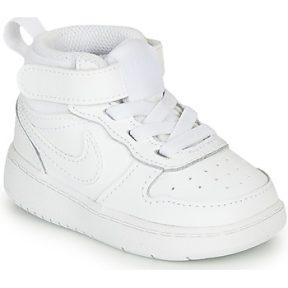 Ψηλά Sneakers Nike COURT BOROUGH MID 2 TD ΣΤΕΛΕΧΟΣ: Δέρμα και συνθετικό & ΕΠΕΝΔΥΣΗ: Ύφασμα & ΕΣ. ΣΟΛΑ: Ύφασμα & ΕΞ. ΣΟΛΑ: Καουτσούκ