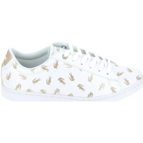 Xαμηλά Sneakers Lacoste Carnaby Evo C Blanc Or
