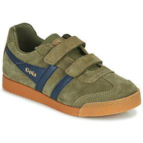 Xαμηλά Sneakers Gola HARRIER VELCRO ΣΤΕΛΕΧΟΣ: Δέρμα & ΕΠΕΝΔΥΣΗ: Συνθετικό & ΕΣ. ΣΟΛΑ: Ύφασμα & ΕΞ. ΣΟΛΑ: Καουτσούκ