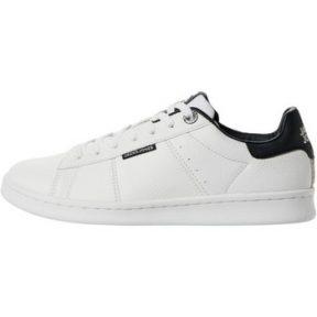 Xαμηλά Sneakers Jack & Jones 12177373 JRBANNA PU WHITE/ANTHRACITE White [COMPOSITION_COMPLETE]