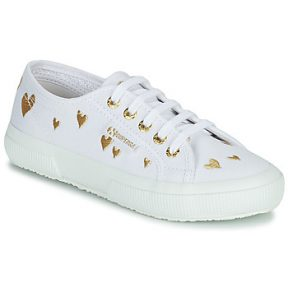 Xαμηλά Sneakers Superga 2750 COTJEMBROIDERY LAMEHEARTS ΣΤΕΛΕΧΟΣ: Ύφασμα & ΕΠΕΝΔΥΣΗ: Ύφασμα & ΕΣ. ΣΟΛΑ: Ύφασμα & ΕΞ. ΣΟΛΑ: Καουτσούκ