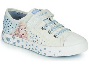 Xαμηλά Sneakers Geox JR CIAK GIRL ΣΤΕΛΕΧΟΣ: Συνθετικό και ύφασμα & ΕΠΕΝΔΥΣΗ: Συνθετικό και ύφασμα & ΕΣ. ΣΟΛΑ: Δέρμα & ΕΞ. ΣΟΛΑ: Καουτσούκ