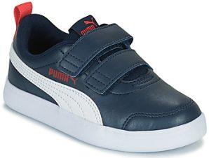 Xαμηλά Sneakers Puma COURTFLEX PS ΣΤΕΛΕΧΟΣ: Συνθετικό & ΕΠΕΝΔΥΣΗ: & ΕΣ. ΣΟΛΑ: Συνθετικό & ΕΞ. ΣΟΛΑ: Συνθετικό