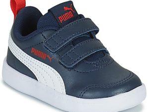 Xαμηλά Sneakers Puma COURTFLEX INF ΣΤΕΛΕΧΟΣ: Συνθετικό & ΕΠΕΝΔΥΣΗ: & ΕΣ. ΣΟΛΑ: Συνθετικό & ΕΞ. ΣΟΛΑ: Συνθετικό