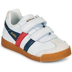 Xαμηλά Sneakers Gola HARRIER LEATHER VELCRO ΣΤΕΛΕΧΟΣ: Δέρμα & ΕΠΕΝΔΥΣΗ: & ΕΣ. ΣΟΛΑ: Ύφασμα & ΕΞ. ΣΟΛΑ: Καουτσούκ