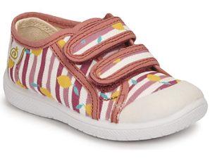 Xαμηλά Sneakers Citrouille et Compagnie GLASSIA ΣΤΕΛΕΧΟΣ: Φυσικό ύφασμα & ΕΠΕΝΔΥΣΗ: Φυσικό ύφασμα & ΕΣ. ΣΟΛΑ: Ύφασμα & ΕΞ. ΣΟΛΑ: Καουτσούκ
