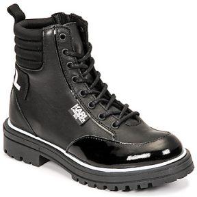 Μπότες για την πόλη Karl Lagerfeld HOLISTA ΣΤΕΛΕΧΟΣ: Δέρμα / ύφασμα & ΕΠΕΝΔΥΣΗ: Ύφασμα & ΕΣ. ΣΟΛΑ: Συνθετικό & ΕΞ. ΣΟΛΑ: Συνθετικό