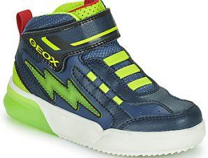 Ψηλά Sneakers Geox GRAYJAY ΣΤΕΛΕΧΟΣ: Συνθετικό και ύφασμα & ΕΠΕΝΔΥΣΗ: Ύφασμα & ΕΣ. ΣΟΛΑ: Δέρμα προβάτου & ΕΞ. ΣΟΛΑ: Καουτσούκ