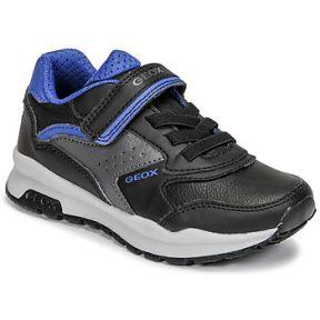 Xαμηλά Sneakers Geox PAVEL ΣΤΕΛΕΧΟΣ: Συνθετικό και ύφασμα & ΕΠΕΝΔΥΣΗ: Ύφασμα & ΕΣ. ΣΟΛΑ: Δέρμα προβάτου & ΕΞ. ΣΟΛΑ: Καουτσούκ