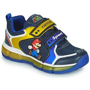Xαμηλά Sneakers Geox ANDROID ΣΤΕΛΕΧΟΣ: Συνθετικό και ύφασμα & ΕΠΕΝΔΥΣΗ: Ύφασμα & ΕΣ. ΣΟΛΑ: Δέρμα προβάτου & ΕΞ. ΣΟΛΑ: Καουτσούκ