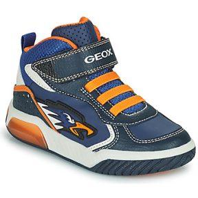 Ψηλά Sneakers Geox INEK ΣΤΕΛΕΧΟΣ: Συνθετικό και ύφασμα & ΕΠΕΝΔΥΣΗ: Συνθετικό και ύφασμα & ΕΣ. ΣΟΛΑ: Δέρμα προβάτου & ΕΞ. ΣΟΛΑ: Καουτσούκ