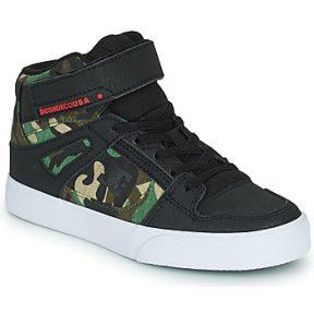 Ψηλά Sneakers DC Shoes PURE HIGH-TOP EV ΣΤΕΛΕΧΟΣ: Δέρμα & ΕΠΕΝΔΥΣΗ: Ύφασμα & ΕΞ. ΣΟΛΑ: Καουτσούκ
