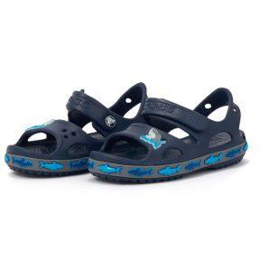 Crocs – Crocs FL Shark Band Sandal B 206365-410 – 00455