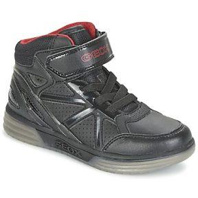 Ψηλά Sneakers Geox ARGONAT BOY ΣΤΕΛΕΧΟΣ: Συνθετικό & ΕΠΕΝΔΥΣΗ: Ύφασμα & ΕΣ. ΣΟΛΑ: Δέρμα & ΕΞ. ΣΟΛΑ: Καουτσούκ
