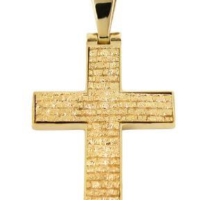 Σταυρός 14Κ από Χρυσό SIO51811