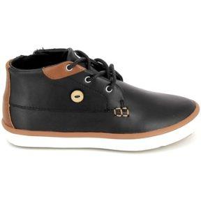 Ψηλά Sneakers Faguo Wattle Leather BB Noir