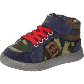 Ψηλά Sneakers Blaike sneakers blu camoscio verde pelle AD769