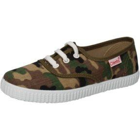 Xαμηλά Sneakers Cienta sneakers verde tessuto marrone profumate AD824