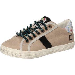 Xαμηλά Sneakers Date sneakers beige tessuto AD855
