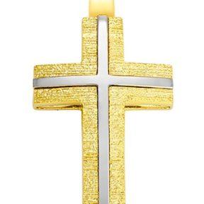 Σταυρός από Χρυσό 14Κ SIO12174