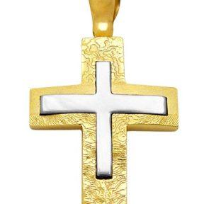Σταυρός από Χρυσό 14Κ SIO12283