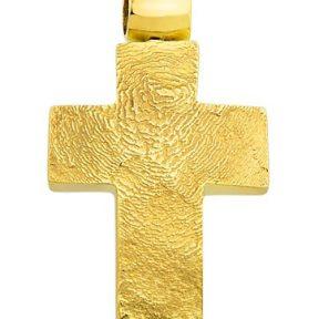 Σταυρός από Χρυσό 14Κ SIO12396