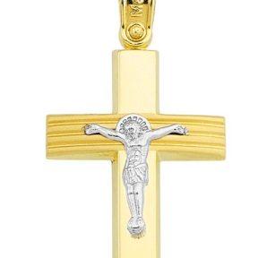 Σταυρός από Χρυσό 14Κ SIO12436