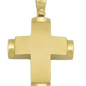 Σταυρός από Χρυσό 14Κ SIO14427