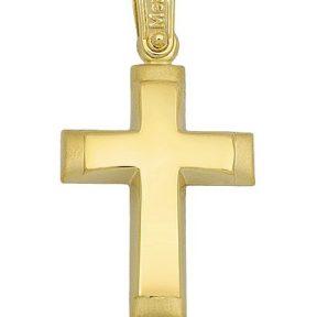Σταυρός από Χρυσό 14Κ SIO15347